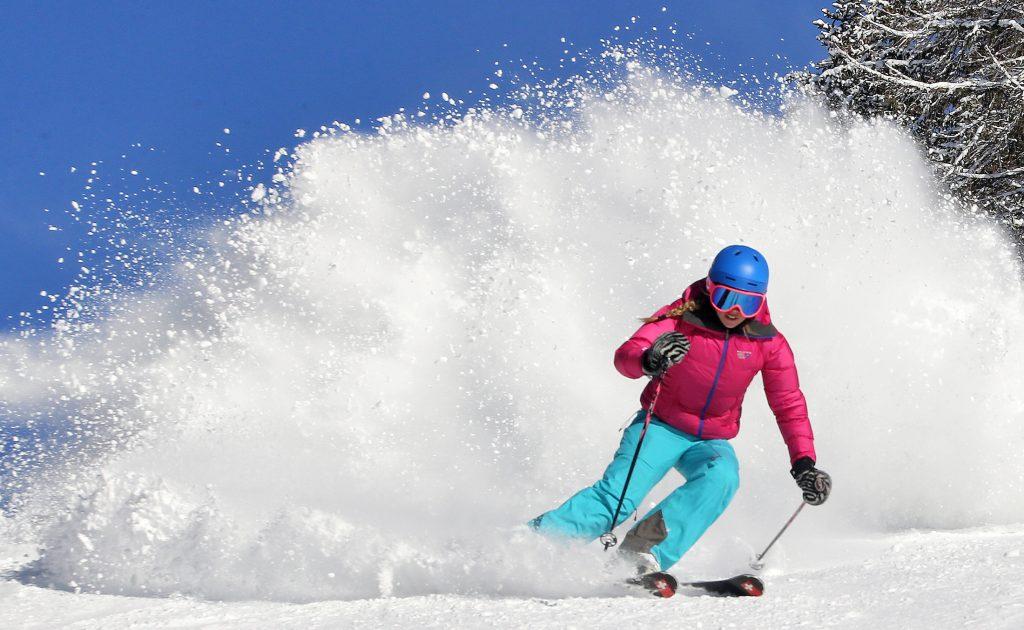Skifahren in Südtirol, Alta Badia, La Crusc