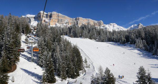 Das Skigebiet La Crusc, Alta Badia