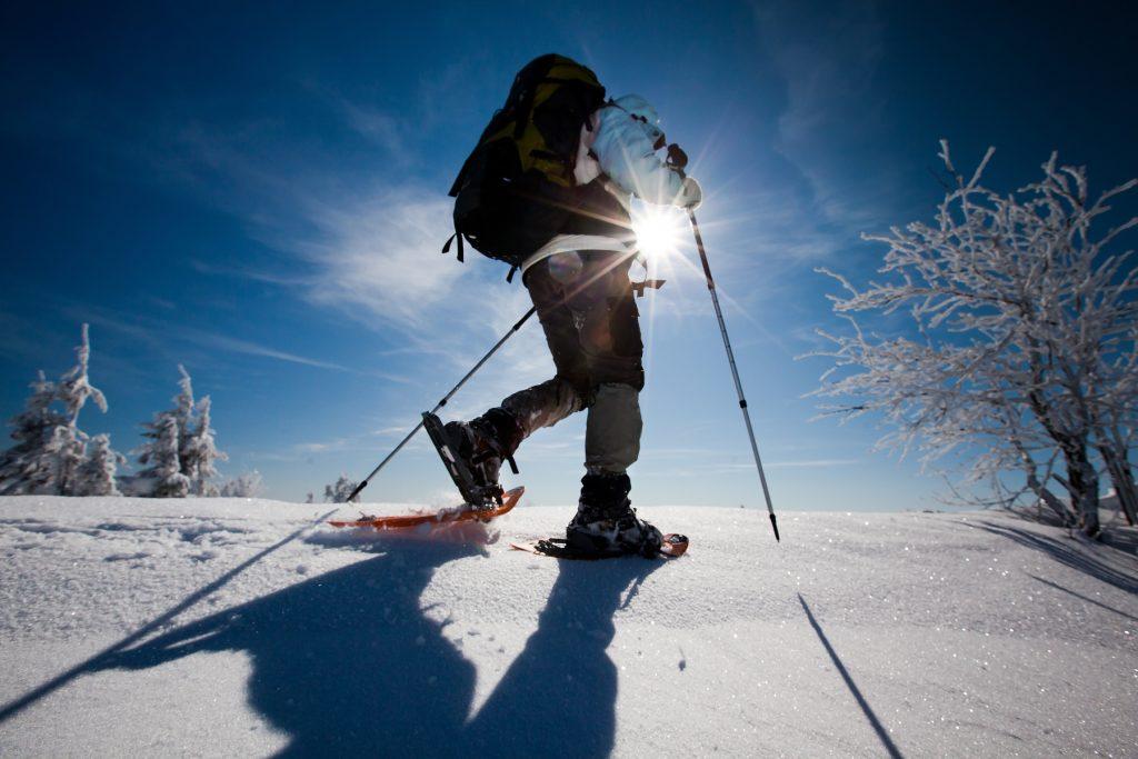 Schneeschuhwandern in La Crusc
