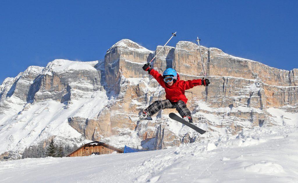 Skifahren in La Crusc Alta Badia