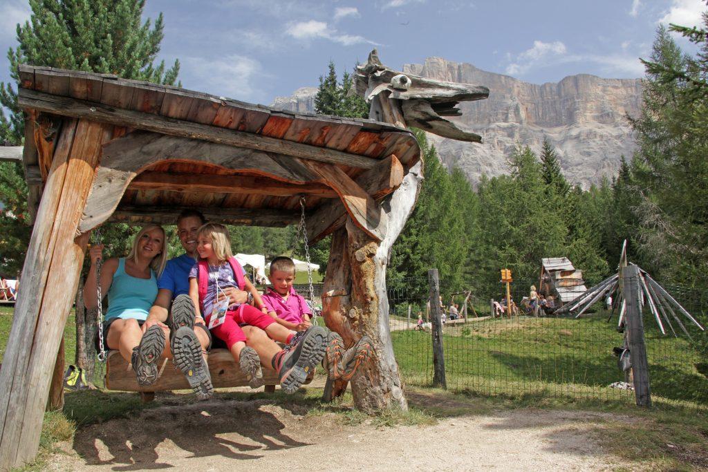 Familienurlaub, Wandern in Südtirol, La Crusc, Alta Badia