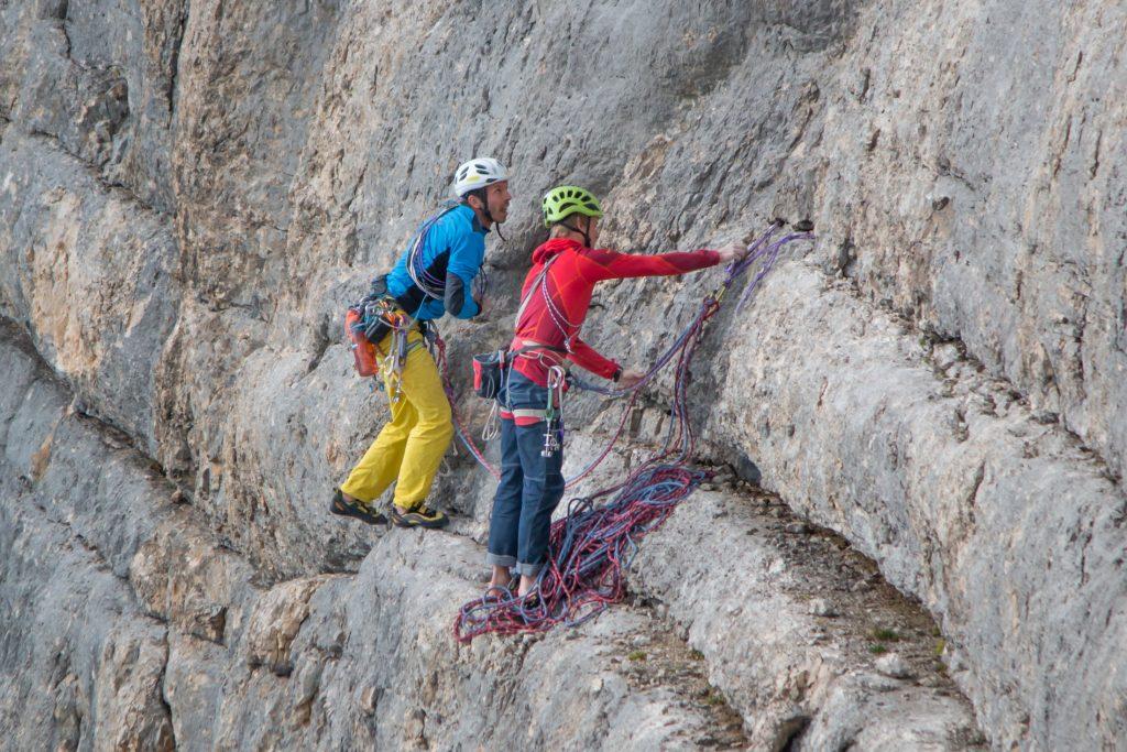 Klettern in Südtirol, Bergsteigen in Südtirol, La Crusc