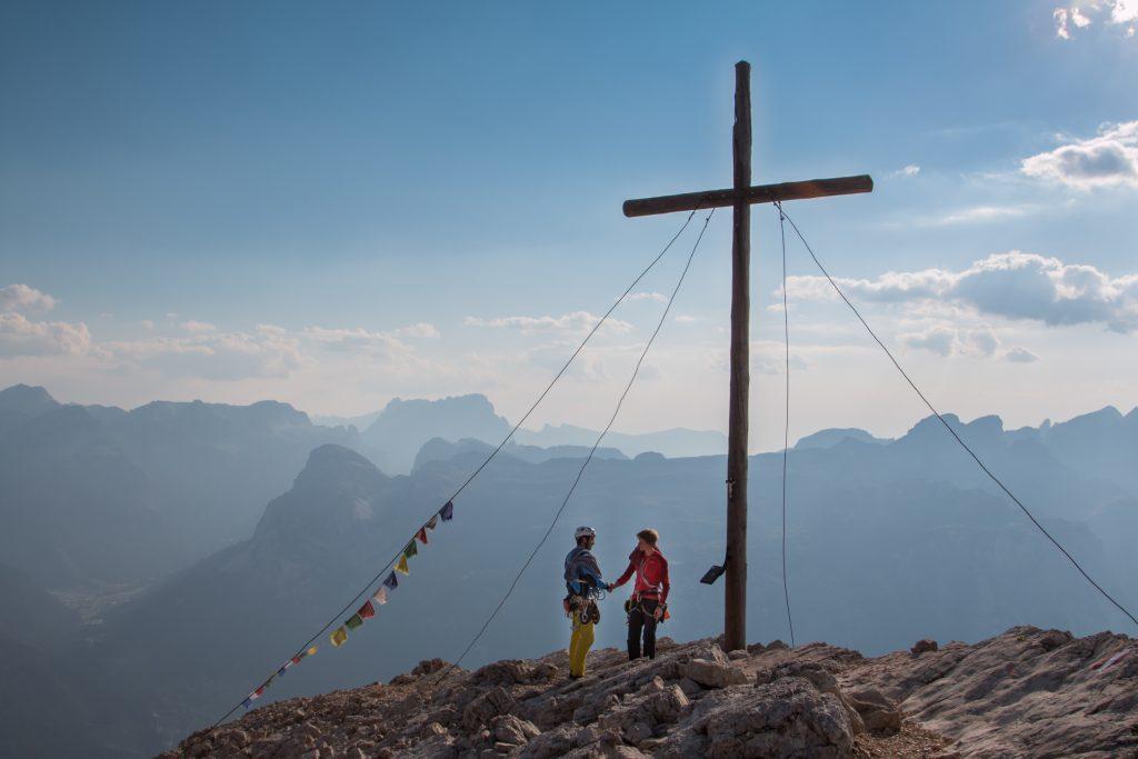 Klettern in Südtirol, Bergsteigen in Südtirol, Gipfel