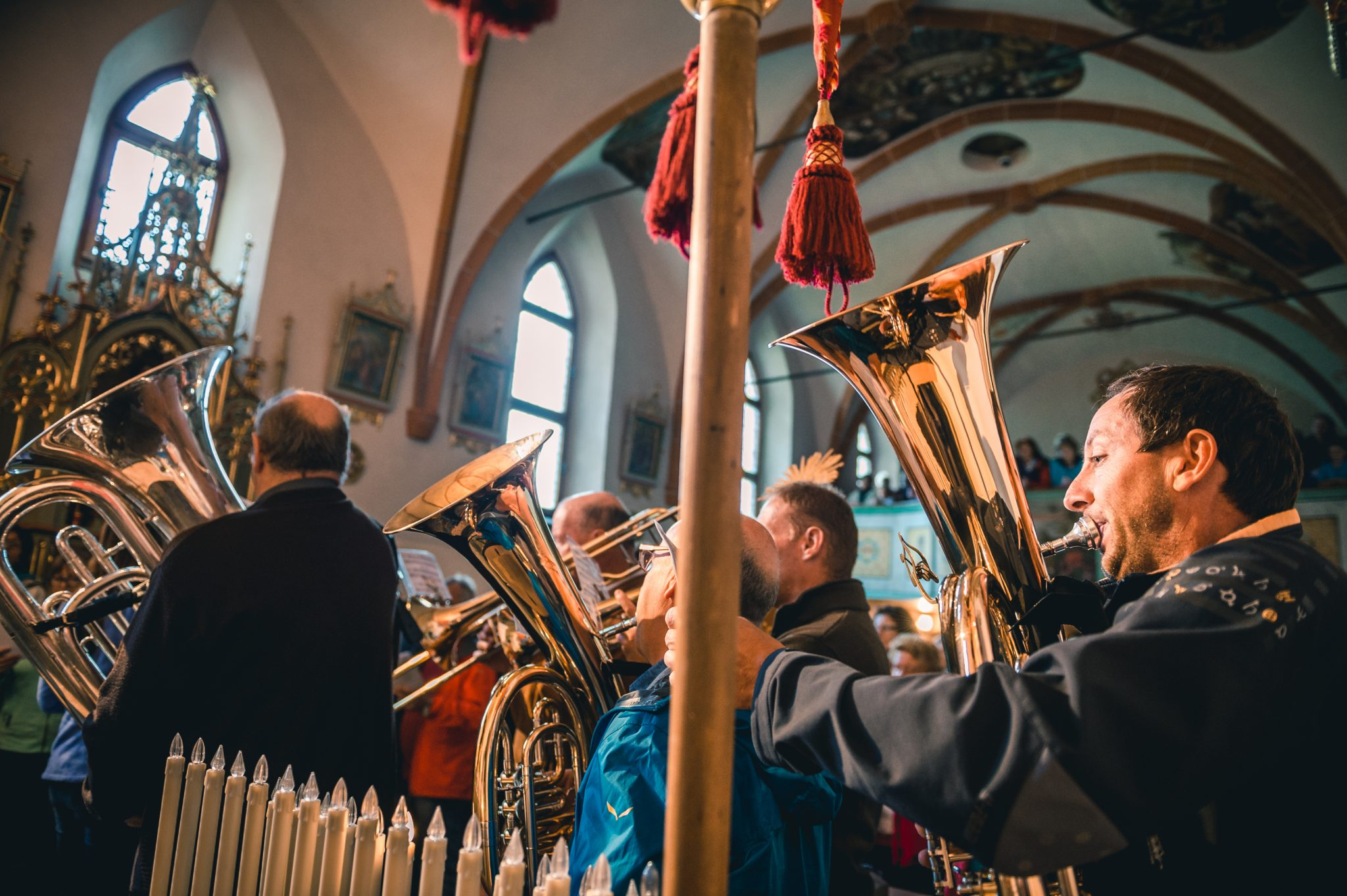 Musikkapelle, Kirche, Heilig Kreuz, Alta Badia, Kultur