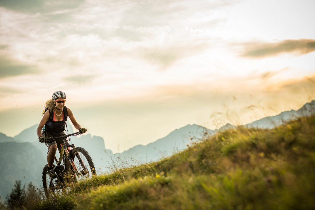 Mountain Biking La Crusc Alta Badia