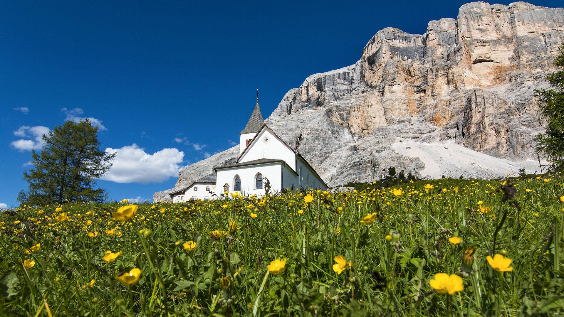 Südtirol Dolomiten Berg Panorama