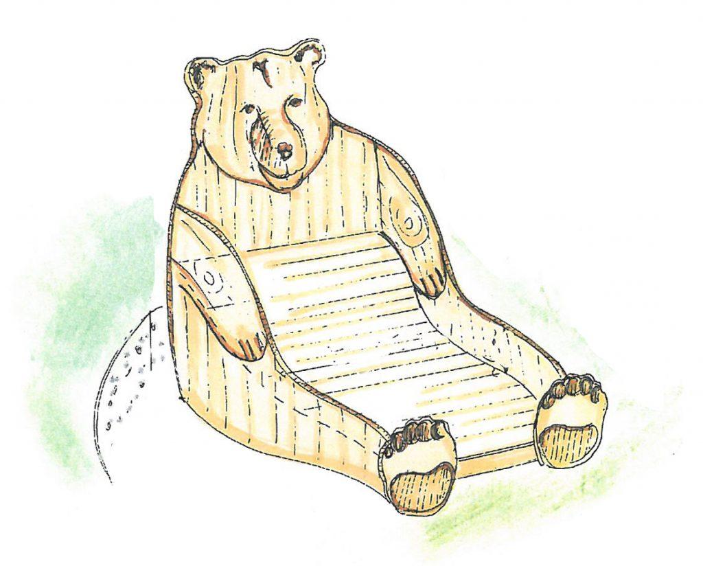 Tierliege Bär